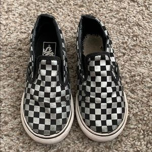 Toddler vans slip on